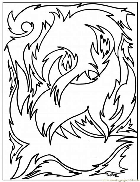 abstract coloring page  painting coloring pages