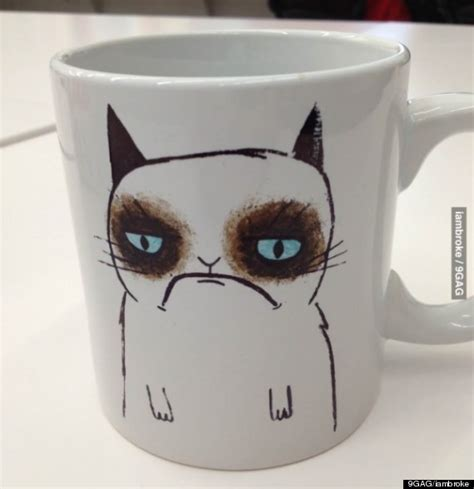 Grumpy Cat Mug Features Irritable Likeness Of Tardar Sauce (PHOTO)   HuffPost