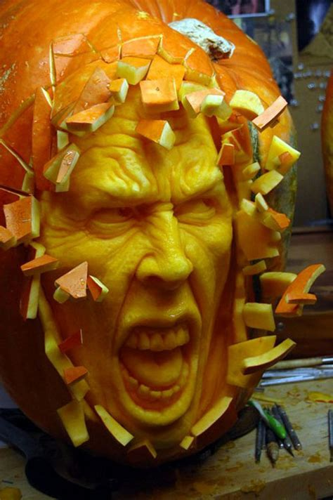Ray Villafane Pumpkin Carving Tutorial by Funny Halloween Pumpkins Carving 10 Dose Of Funny