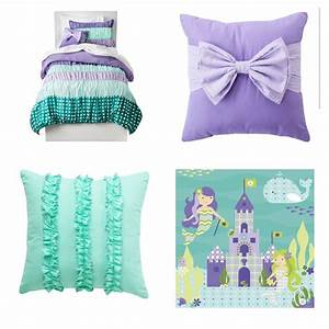 Little Mermaid Girl U0026 39 S Room  Love The Teal And Purple Combo