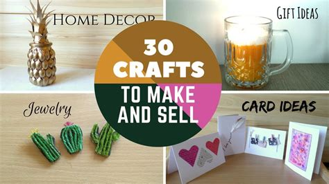 easy crafts to make and sell 30 crafts to make and sell diy easy make money on 7694