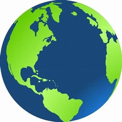 Clip Clipart Earth Planet Vector Clker Cliparts