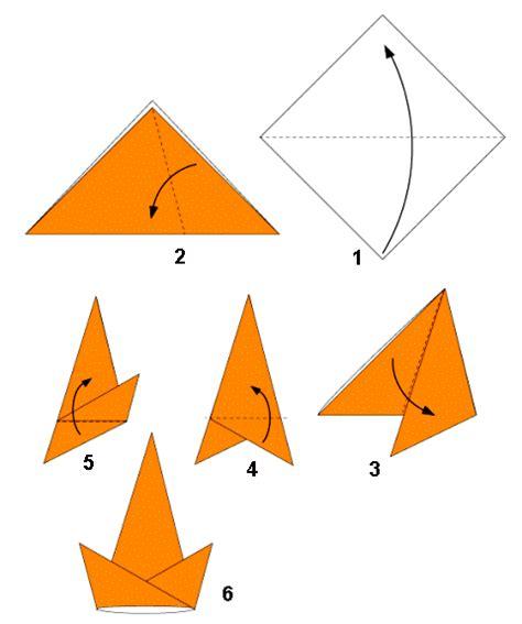 topi garis origami membuat topi cina topi koki dan topi pesta