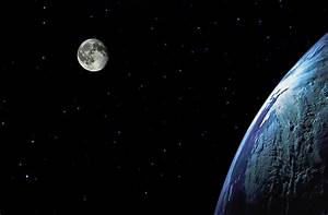 Earth Moon and Stars - Pics about space
