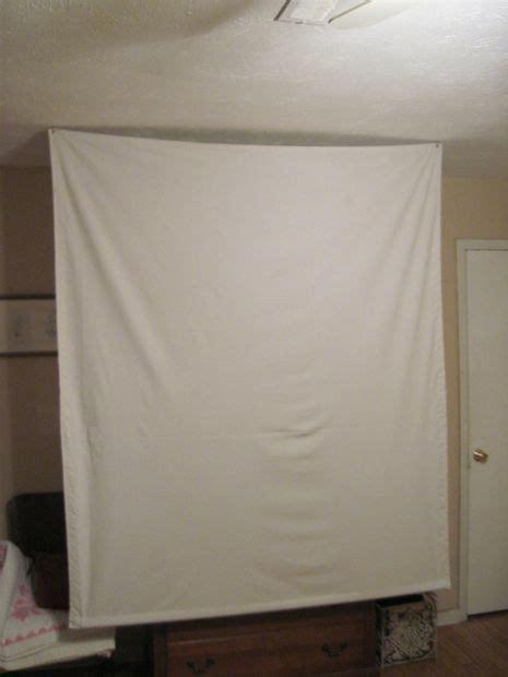 cheap portable projector screen diy projection screen
