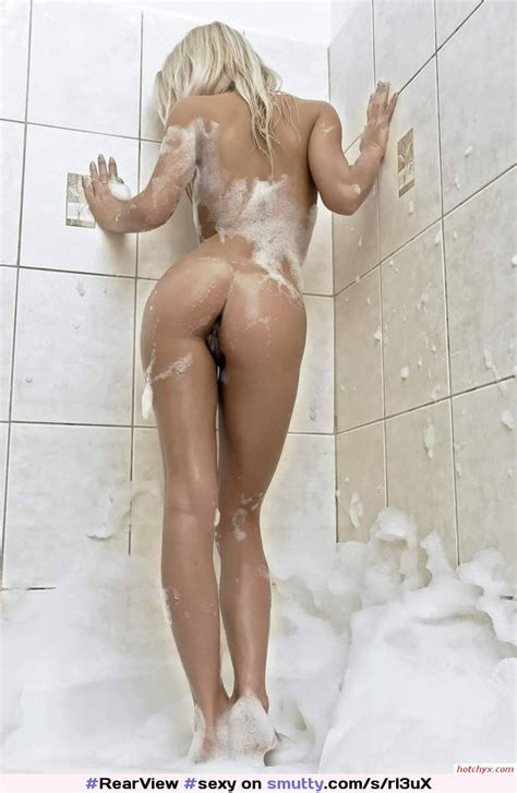 Sexy Soapy Blonde Shower Hot Ass Psfb Pussy Legs