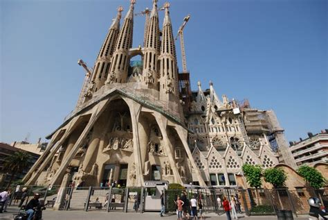 "La Sagrada Familia, The Church Nuanced ""art Deco"" In The"