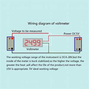 35 Voltage Gauge Wiring Diagram