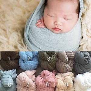 40*160 cm Wrap Newborn Photography Props Baby Photo Shoot Accessories Photograph For Studio-in ...