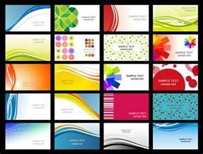design visitenkarten vorlagen variety of dynamic flow line of business card templates 02 vector free vector 4vector