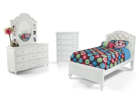 madelyn  piece upholstered twin youth bedroom set bobs