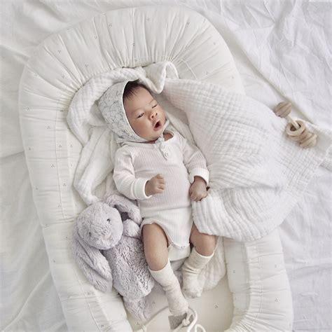 CAM CAM Baby Nest Dot Creme/Grey