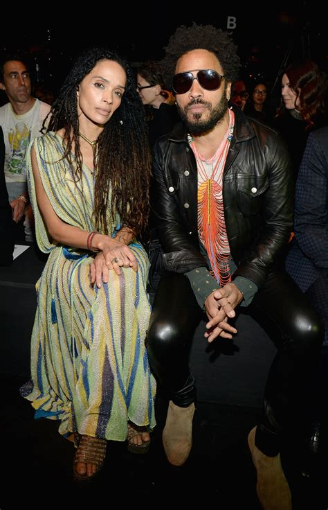 Pictured Lenny Kravitz And Lisa Bonet This Fashion