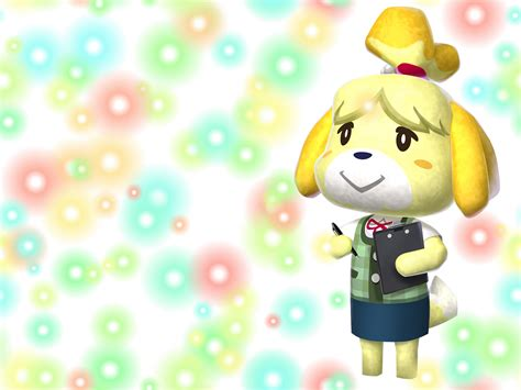 Animal Crossing New Leaf Wallpaper - animal crossing new leaf images isabelle hd fond d 233 cran