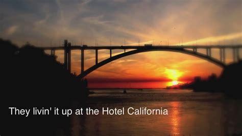 Eagles Hotel California Lyrics  Autos Weblog