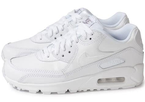 air max blanc nike air max 90 blanc chaussures chaussures chausport