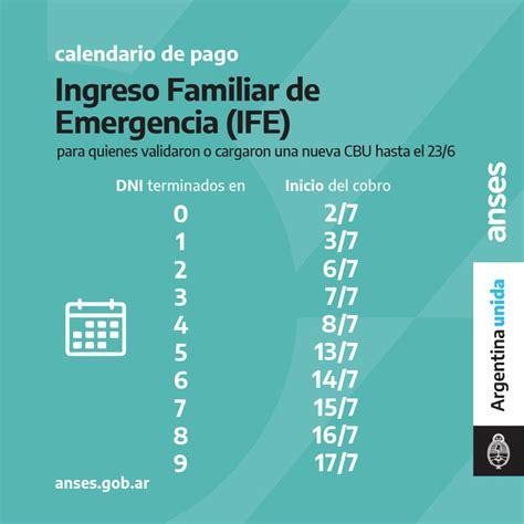 Entre el 8 y el 18 de. Alberto Fernández anunció el tercer pago del IFE en todo el país - SOL 91.5