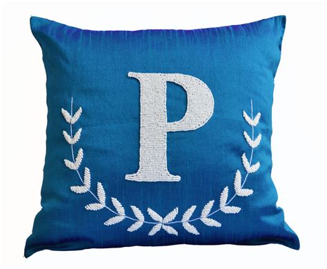 Monogrammed Throw Pillows  Homesfeed. Small Swivel Chairs For Living Room. Masculine Interior Decorating. Cheap Wedding Ceremony Decorations. Dining Room Buffet Ideas. Cute Baby Rooms. Best Paint For Living Room. The Nightmare Before Christmas Decorations. Aztec Home Decor