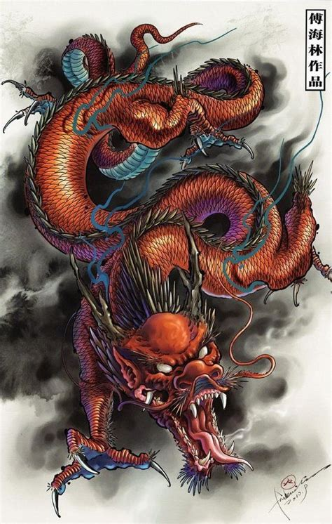 ideas  japanese dragon tattoos  pinterest