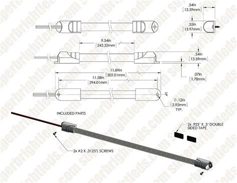 12 inch led tube light 12 inch 24 led light tube 60 lumens led strip lights
