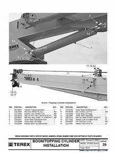 Terex Bt2000 Crane Download The Parts Manual In Pdf Format