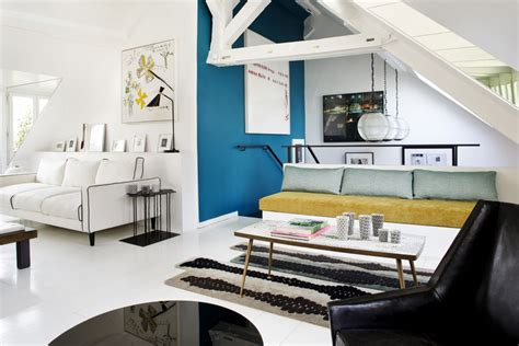 duplex parisien apartment  strong personality