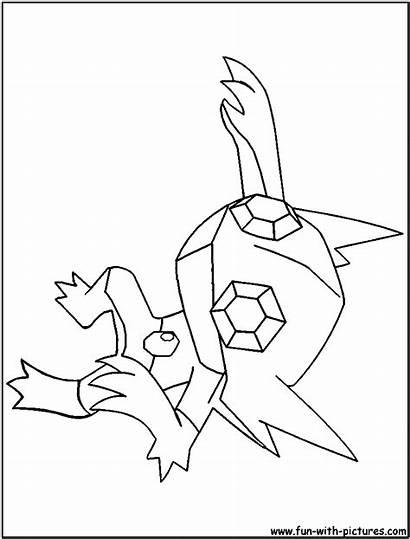 Coloring Pokemon Sableye Colouring Printable Fun Drawing