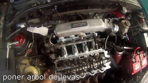 Como anillar un motor paso a paso (Hyundai Accent G4EK ...