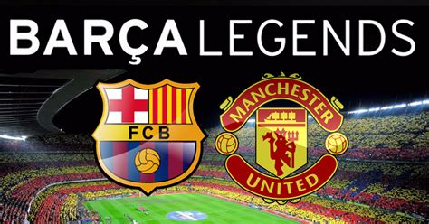 Manchester United Legends Vs Barcelona Legends (2-2) All Goals And Highlights. - YouTube