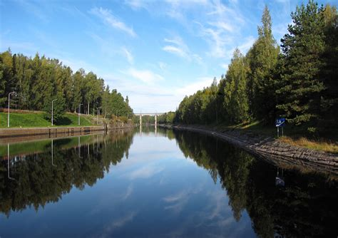wallpaper for homes file saimaa canal at lappeenranta finland jpg wikimedia