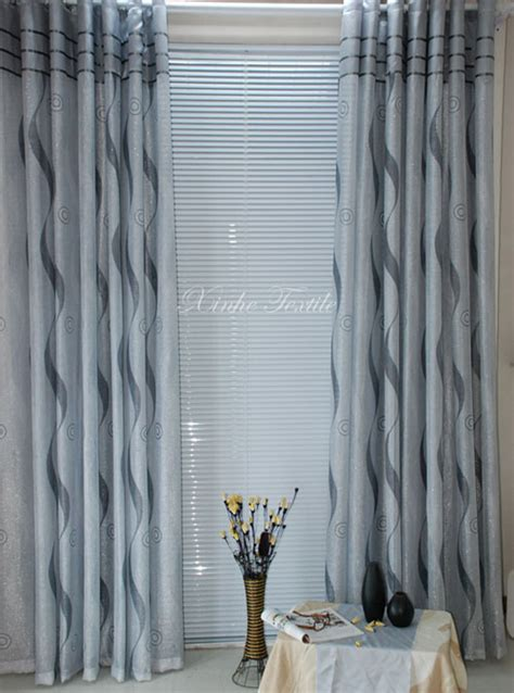 china polyester embossed curtain dhc1001 china curtain