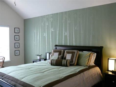 asian inspired wall covering ideas