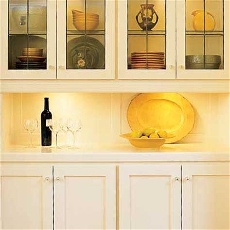 put  undercabinet lighting  ways  spruce  tired kitchen cabinets   house