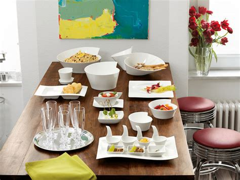 New Wave Villeroy Boch by Villeroy Boch New Wave Dinnerware Contemporary