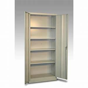 Armoire Vestiaire Metal : armoire vestiaire en m tal monobloc 2 portes jds ~ Edinachiropracticcenter.com Idées de Décoration