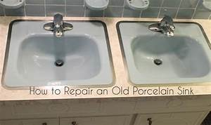 GORGEOUS SHINY THINGS How To Repair A Porcelain Sink