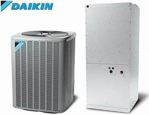 7 5 Ton Daikin Split Heat Pump Central Air System 208  230v