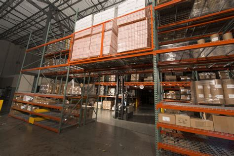 pallet rack backing warehouse safety ak material