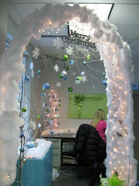 garden archway turned  snow tunnel everest vbs