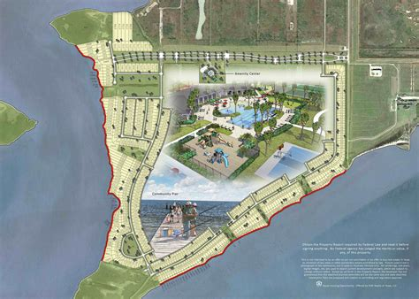 Site Plan - Premium Waterfront Homesites