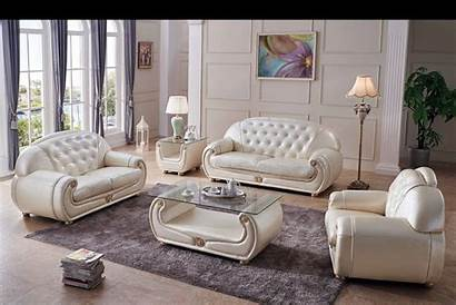 Living Furniture Leather Beige Chairs Sofas End