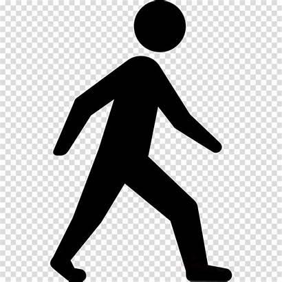Clipart Human Walking Transparent Background Line Person