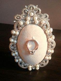diy picture frame ring holder my diy life