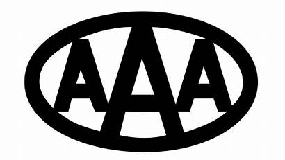 Aaa American Association Automobile Letters Brand Italic