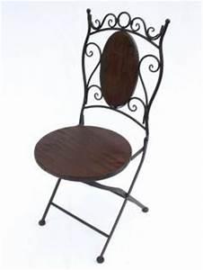 Gartenstuhl Metall Holz : stuhl gartenstuhl hx12581 bistrostuhl 70cm klappstuhl ~ Lateststills.com Haus und Dekorationen
