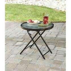 jaclyn smith cora round side table outdoor living
