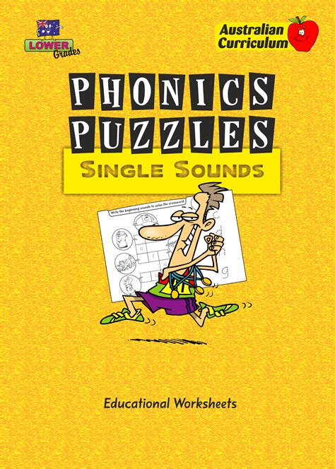 phonics puzzles single sounds educational worksheets