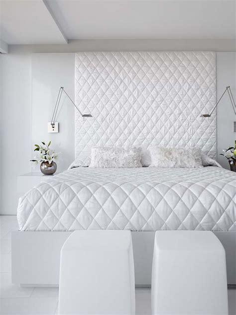white bedroom  boring design idea