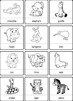 wild animals vocabulary  kids learning english