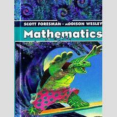 7th Grade Math Book Answers Scott Foresmanaddison Wesley Mathematics